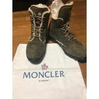 モンクレール(MONCLER)のMONCLER メンズ ムートン ブーツ (ブーツ)