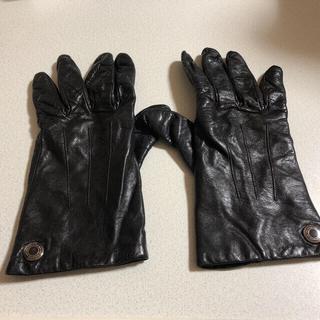コーチ(COACH)のcoach レザーグローブ(手袋)