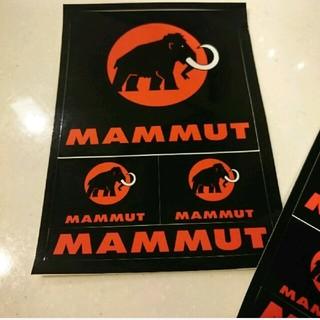 マムート(Mammut)のお値下げ 新品 マムート  ポストカード ステッカー(登山用品)