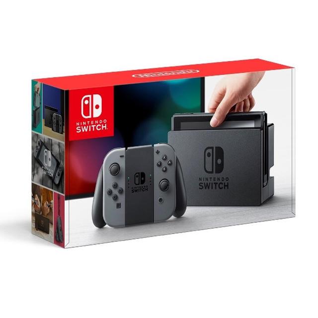 Nintendo Switch(ニンテンドースイッチ)の美品 ニンテンドースイッチ グレー エンタメ/ホビーのテレビゲーム(携帯用ゲーム本体)の商品写真