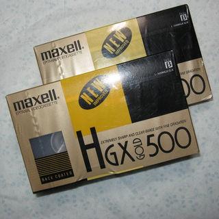 マクセル(maxell)のレア新品βビデオテープ_2本セット_HGXgold500(maxell)(その他)