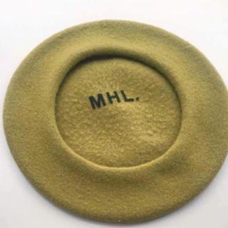 マーガレットハウエル(MARGARET HOWELL)のMHL.ベレー帽(ハンチング/ベレー帽)
