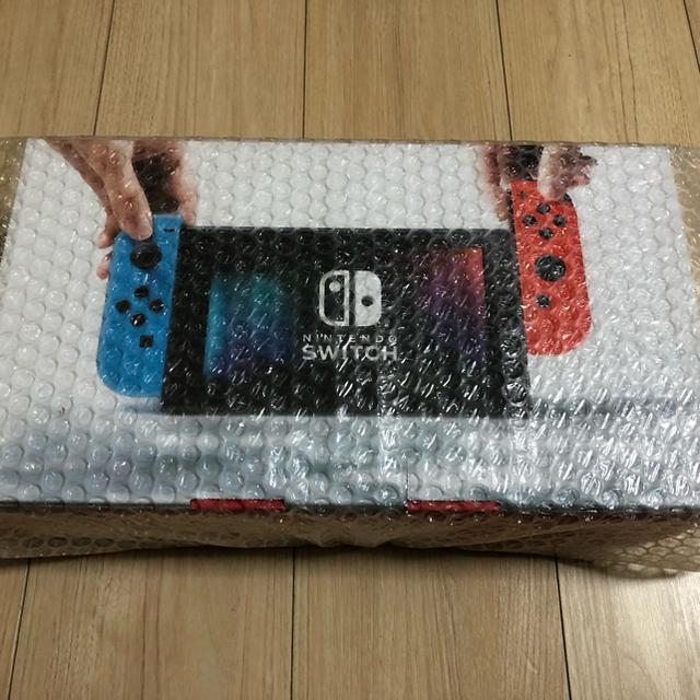 Nintendo Switch(ニンテンドースイッチ)の【新品未開封】任天堂スイッチ Nintendo Switch 本体 エンタメ/ホビーのテレビゲーム(家庭用ゲーム本体)の商品写真