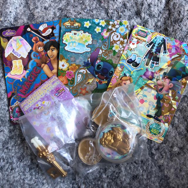 Disney(ディズニー)のさくら様専用*°ディズニーマジックキャッスル エンタメ/ホビーのトレーディングカード(その他)の商品写真