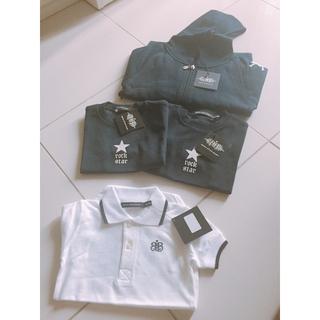 バンクキッズ(BANK KIDS)の【大きめ18-24M】ROCK STAR BABYTシャツ新品未使用タグ付き(Tシャツ/カットソー)