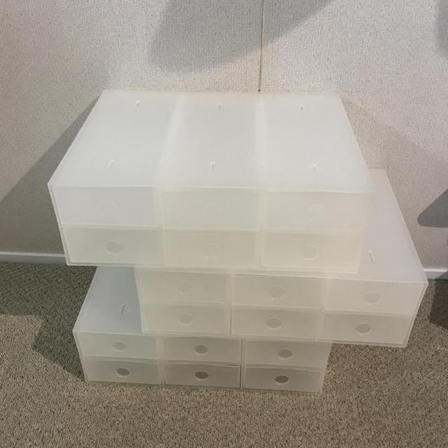 MUJI (無印良品)(ムジルシリョウヒン)の無印 ポリプロピレン 小引き出し 3個 インテリア/住まい/日用品の収納家具(ケース/ボックス)の商品写真