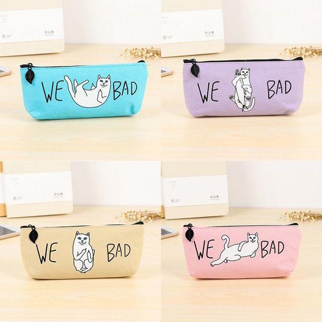 ねこ 猫ペンケース 猫筆箱 猫小物入れ ピンク♪ 新品未使用品 送料無料 その他のペット用品(猫)の商品写真