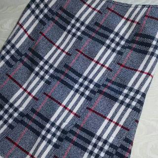 バーバリー(BURBERRY)の美品◆BURBERRYバーバリーロンドン◆チェック柄・ウールスカート(ひざ丈スカート)