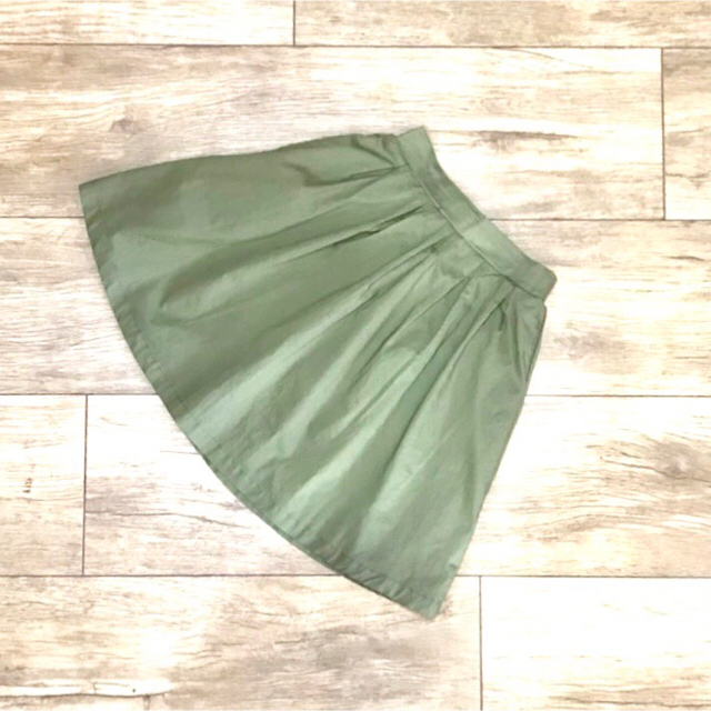 Donkey Jossy(ドンキージョシー)のDonkey Jossy  ローンヒザ丈タックフレアスカート  N45202 キッズ/ベビー/マタニティのキッズ服 女の子用(90cm~)(スカート)の商品写真