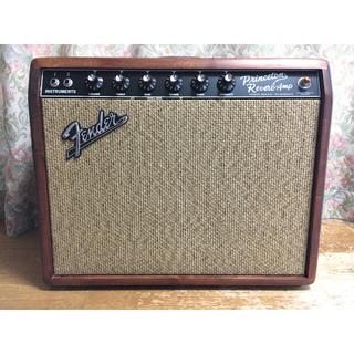 フェンダー(Fender)のFender 65 Princeton Reverb KnottyPine 美品(ギターアンプ)