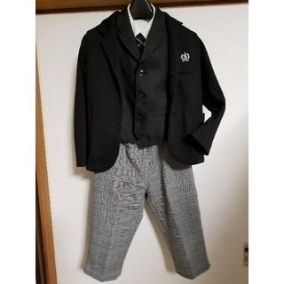 サンカンシオン(3can4on)の男児フォーマルスーツsize120(ドレス/フォーマル)