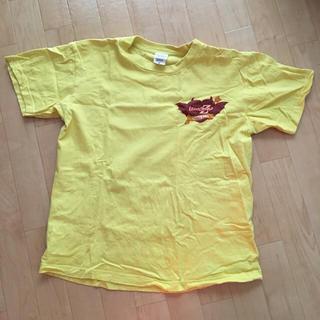 モモイロクローバーゼット(ももいろクローバーZ)のももクロ しおりん 黄色 Tシャツ M(Tシャツ(半袖/袖なし))
