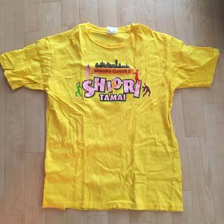 モモイロクローバーゼット(ももいろクローバーZ)のももクロ しおりん 黄色 Tシャツ L(Tシャツ(半袖/袖なし))