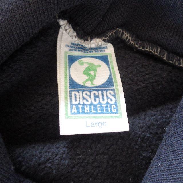 DISCUS(ディスカス)の80S DISCUS ATHLETIC スウェットパーカー L メンズのトップス(パーカー)の商品写真
