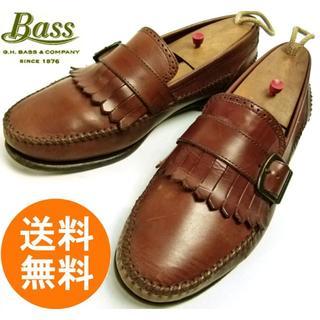 ジーエイチバス(G.H.BASS)のバス Bass キルトローファー 8 1/2M(26.5cm相当)【中古】(スリッポン/モカシン)