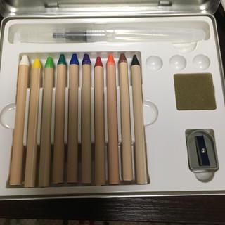 ムジルシリョウヒン(MUJI (無印良品))の無印水彩色鉛筆スケッチセット(色鉛筆 )