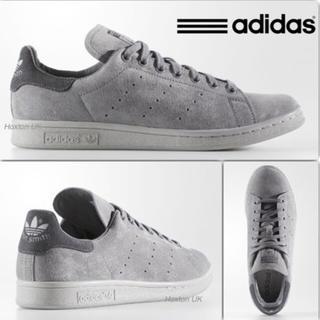 アディダス(adidas)の新品 未使用 アディダス スタンスミス スエードグレー 各サイズ(スニーカー)