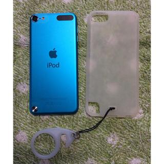 アイポッドタッチ(iPod touch)のiPod touch5世代  32GB   ブルー(その他)