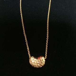 ティファニー(Tiffany & Co.)のティファニー ビーン ダイヤモンド K18イエローゴールド ネックレス(ネックレス)
