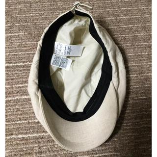 ムジルシリョウヒン(MUJI (無印良品))の無印良品 ハンチング ベージュ(ハンチング/ベレー帽)
