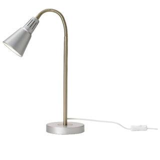 イケア(IKEA)の新品未使用 IKEA イケア KVART ワークランプ(シルバーカラー)(フロアスタンド)