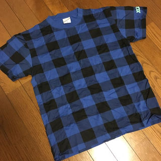 エクストララージ(XLARGE)の【送料無料】X-LARGE エクストララージ チェック Tシャツ Mサイズ(その他)