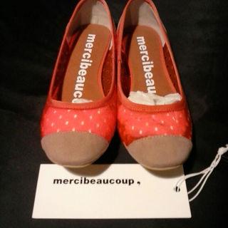 メルシーボークー(mercibeaucoup)のsale! mercibeaucoup,フラットシューズ新品未使用(その他)