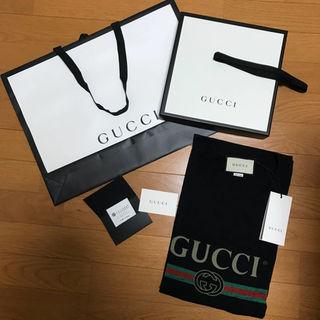 グッチ(Gucci)の国内正規品 GUCCI ロゴTシャツ XL グッチ(その他)
