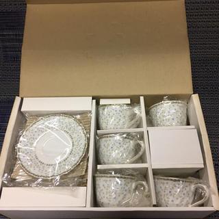ニッコー(NIKKO)のP-64ニッコーコーヒーカップ&ソーサー6客セット箱入り未使用(グラス/カップ)