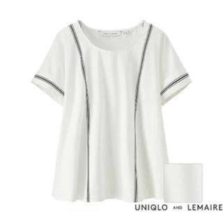 ルメール(LEMAIRE)の大人気‼︎UNIQLO×LEMAIREコットンTブラウス(シャツ/ブラウス(半袖/袖なし))