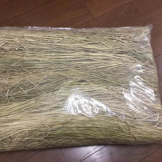 ウサギさんも大好き♪天日干し稲わら(約2kg入り) その他のペット用品(小動物)の商品写真