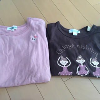 サンカンシオン(3can4on)の長袖 100くらい セット(Tシャツ/カットソー)