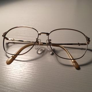 ハナエモリ(HANAE MORI)のハナエモリ HANAE MORI婦人メガネ 1611 55□15 135(サングラス/メガネ)