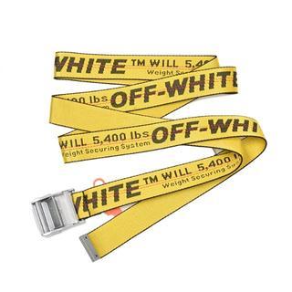 オフホワイト(OFF-WHITE)のOFF-WHITE オフホワイト INDUSTRIAL BELT イエローベルト(ベルト)