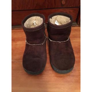 ムジルシリョウヒン(MUJI (無印良品))の無印良品 ボアブーツ 15〜16センチ(ブーツ)
