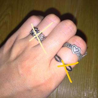クレージュ(Courreges)のリング ハート(リング(指輪))