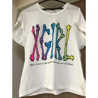 エックスガール(X-girl)の【交渉中】XGIRL ティシャツ(ももクロ佐々木彩夏さん着用同デザイン)(Tシャツ(半袖/袖なし))