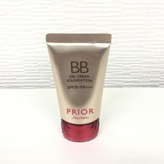 プリオール(PRIOR)のプリオール 美つやBBジェルクリーム オークル3 リキッドファンデーション(BBクリーム)