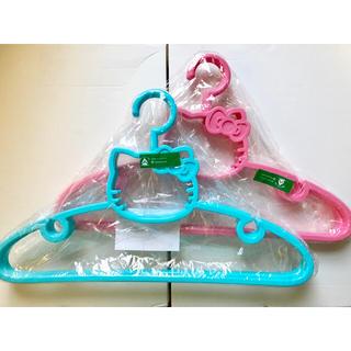 サンリオ(サンリオ)の【新品】Hello Kitty ハンガーセット(押し入れ収納/ハンガー)