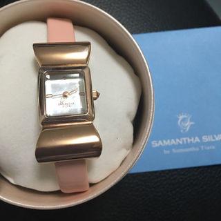 サマンサシルヴァ(Samantha Silva)のサマンサシルヴァ リボン時計(腕時計)