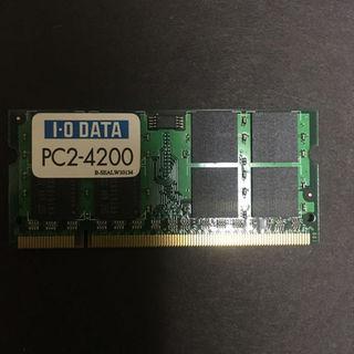 アイオーデータ(IODATA)の★I・Oデータ★PC2-4200★1GB★(その他)