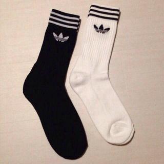 アディダス(adidas)のadidas ソックス2足セット!ラスト(ソックス)