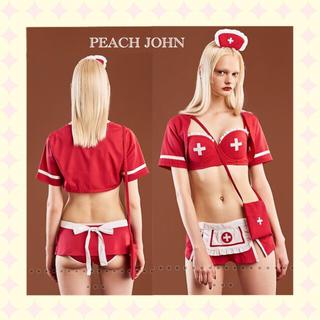 ピーチジョン(PEACH JOHN)のPEACHJOHN ピーチジョン 新品 コスプレ ナース ストラップレス セット(コスプレ)