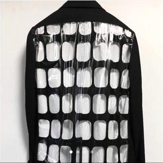 コムデギャルソンオムプリュス(COMME des GARCONS HOMME PLUS)のCOMMEdesGARCONS HOMMEPLUS  PVCコート(ステンカラーコート)