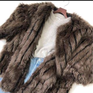トーガ(TOGA)のtogaxtc オーバーサイズ ファーコート  (毛皮/ファーコート)