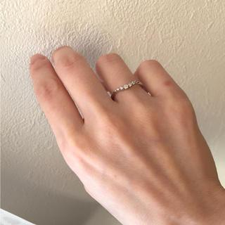 ヨンドシー(4℃)の4℃★プラチナ ダイヤ リング(リング(指輪))