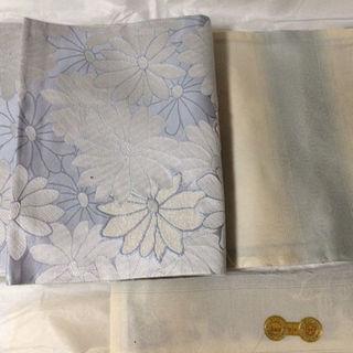 西陣織 正絹 白地袋帯(振袖)