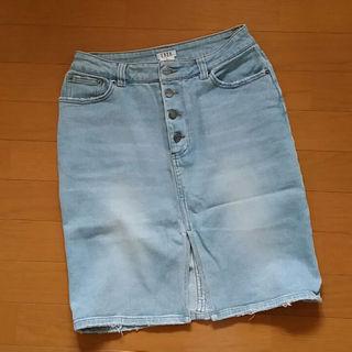 エルバ(ERBA)のデニムスカート/ERBA(ひざ丈スカート)
