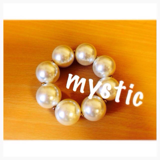 ミスティック(mystic)のmystic◎パールブレスレット(ブレスレット/バングル)