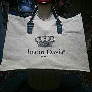 ジャスティンデイビス(Justin Davis)の緊急値下げ!激レア  Justin Davis  ノベルテーbag(その他)